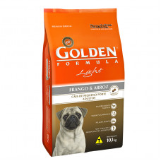 Golden Cães Adultos Light Mini Bites Frango e Arroz