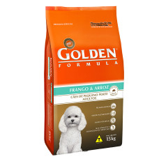 Golden Cães Adultos Mini Bites Frango & Arroz