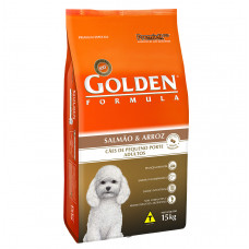 Golden Cães Adultos Mini Bites Salmão e Arroz