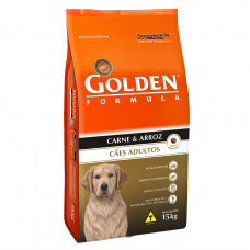 Golden Cães Adultos Carne e Arroz