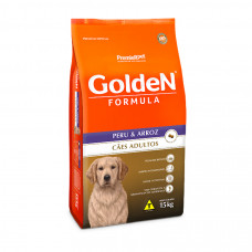 Golden Cães Adultos Peru e Arroz