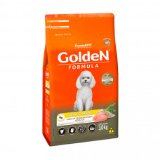Golden Cães Adultos Mini Bites Peru e Arroz