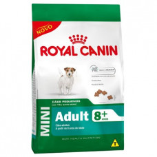 Royal Canin Cães Adultos 8+ Mini