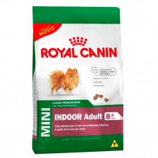 Royal Canin Cães Adultos 8+ Mini Indoor
