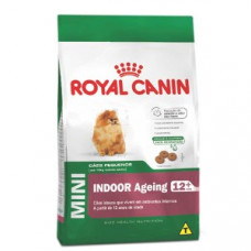 Royal Canin Cães Adultos 12+ Mini Indoor